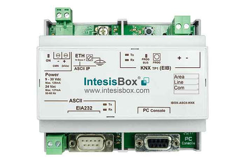 Intesis KNX to ASCII Gateway