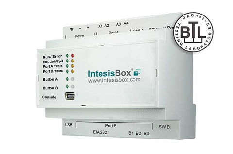 Intesis KNX to BACnet Gateway