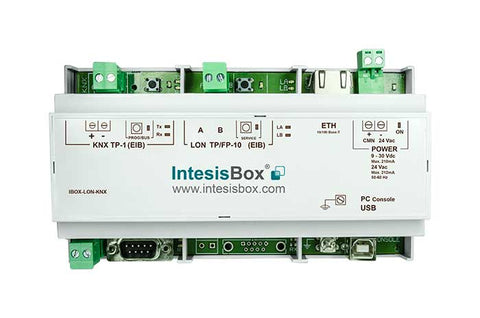 Intesis KNX to LonWorks Gateway