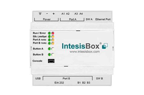 Intesis KNX to Modbus Gateway