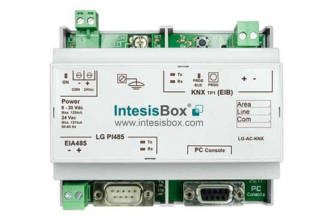 Intesis LG VRF systems to KNX Gateway