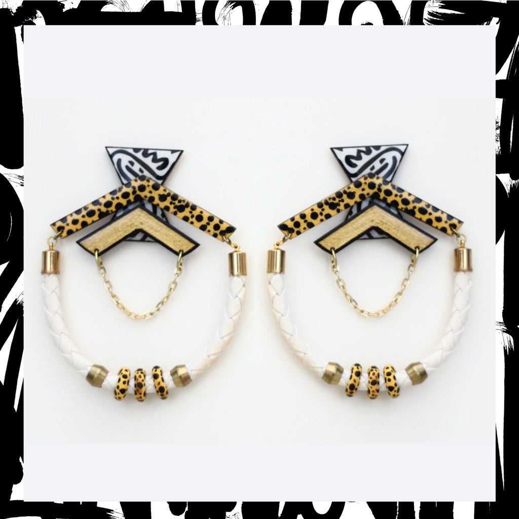 King Jaffe Earrings