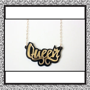 Queen's Manifesto Necklace