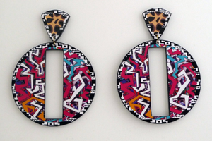 Sass a Frass Earrings (Archived design)
