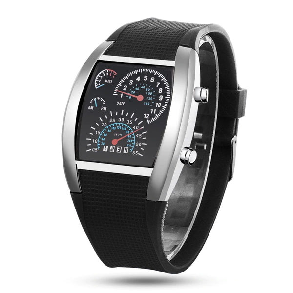 Relógio Montre Homme Masculino Led Digital