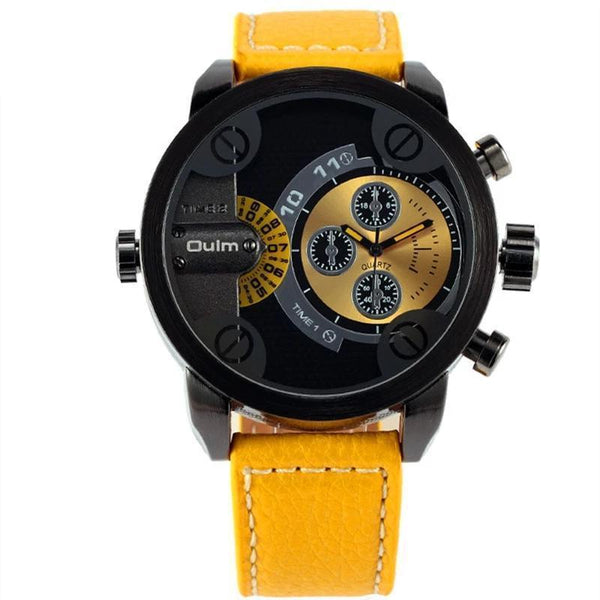 Relógio Oulm Masculino Oversized Dial - iClock