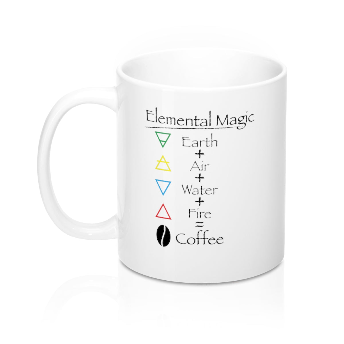 Coffee Magic Mug 11oz - Elemental Magic coffee mug