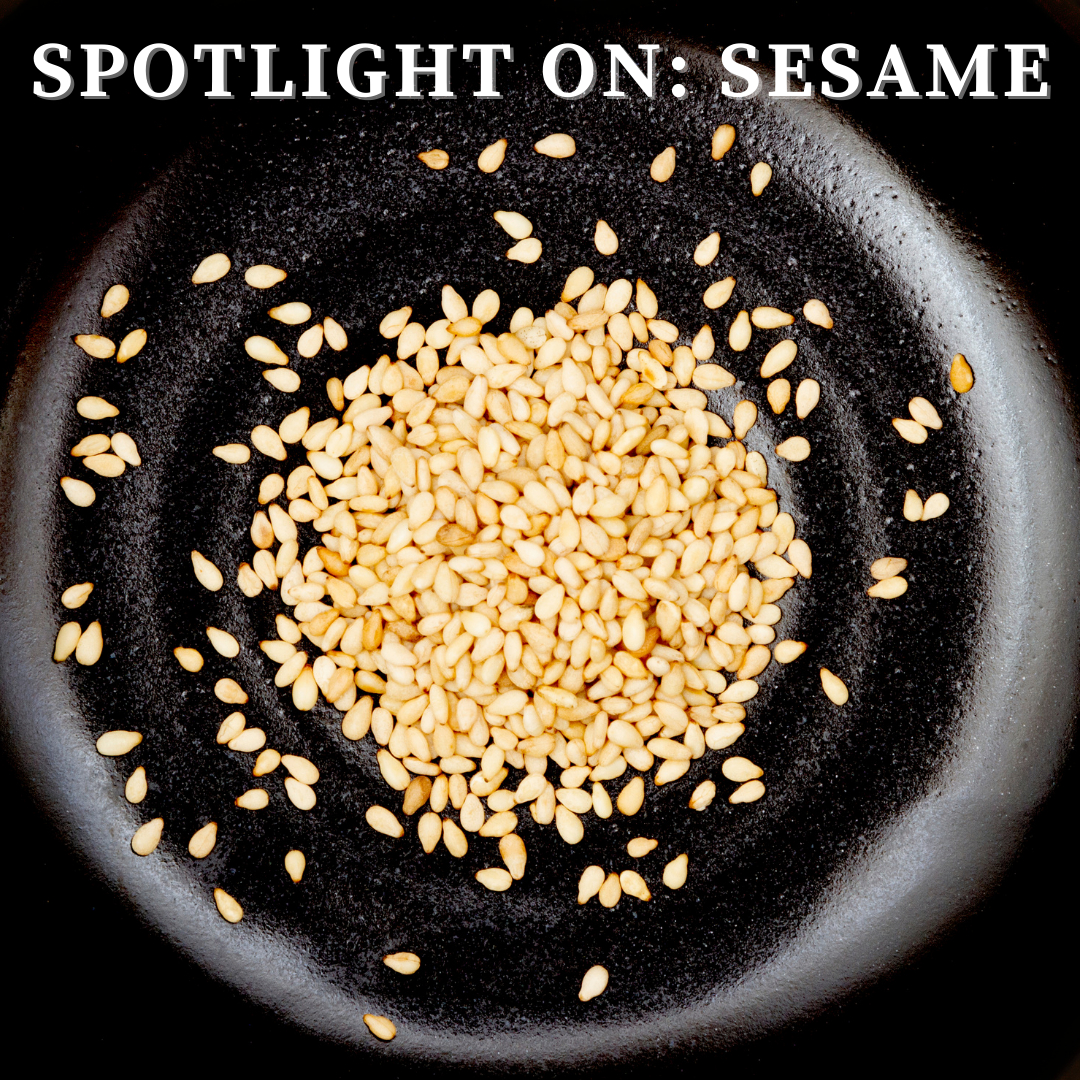 Sesame Seeds in a Bowl