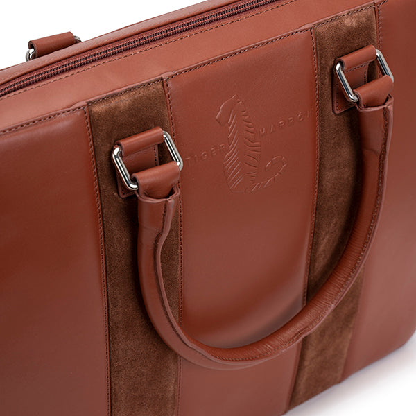 Laptop Bag - CLAY BROWN