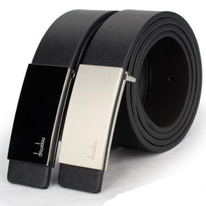 Mens Belts Luxury 2015 New 2color Men Belt Luxury Classic Faux Leather Belts For Pin Automatic Buckle Brand 9269