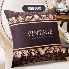 Load image into Gallery viewer, Decorative Luxury Slub Linen Pillow Case Cover Pillowcase for House New