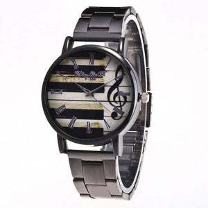 Fashion Luxury Women Quartz Stainless Steel Wrist Watch
