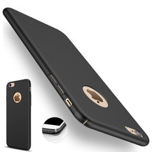 Load image into Gallery viewer, for iphone 7 iphone7 Case Luxury Back Hard Black Luxury 6plus 7plus Coque Case for iphone 6 6s Plus iphone 7 plus 5 5s Cover