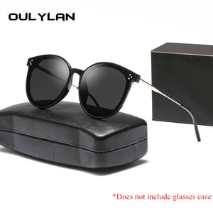 Oulylan Cat Eye Sunglasses Women Men Luxury Brand Metal Sun Glasses Female Male Eyewear UV400
