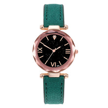 Load image into Gallery viewer, 2019 New Watches Brand Luxury Casual Fashion Women Leather Casual Watch Luxury Analog Quartz Starry Sky Wristwatch dropshipping