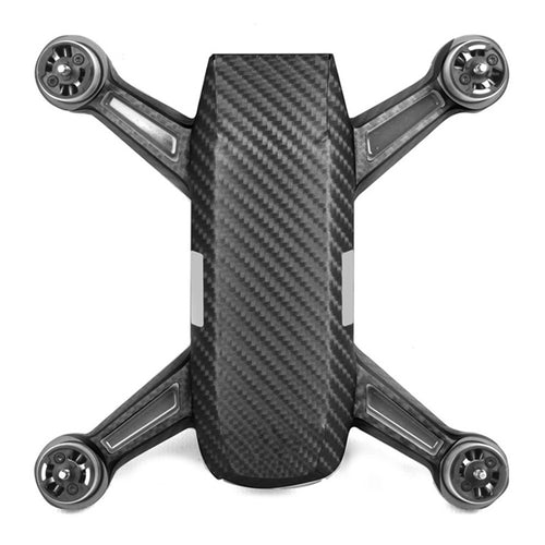 Carbon Fiber Skin Wrap Waterproof Stickers For DJI SPARK Accessories Luxury Futural Digital J03T Free Shipping