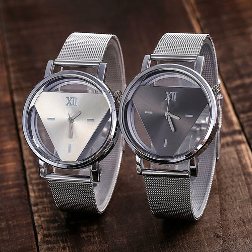 Vansvar Luxurious Casual Quartz Stainless Steel Band Marble Strap Watch Analog Wrist Individuality Watch YY06