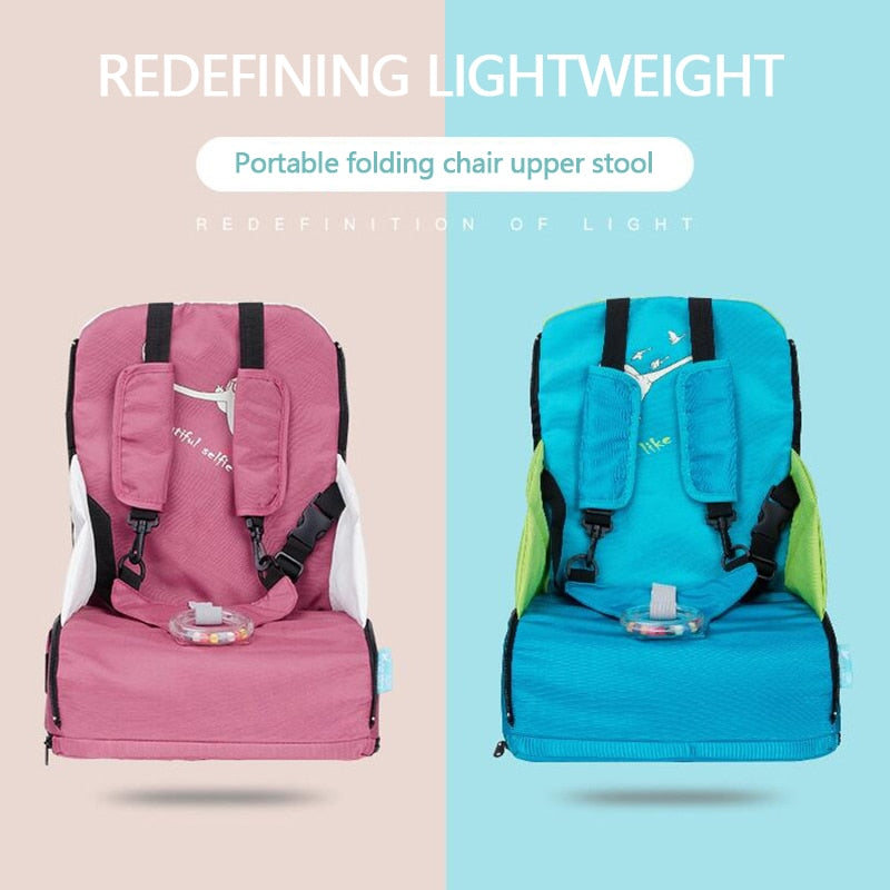 Portable Folding Infant Feeding Booster Seat