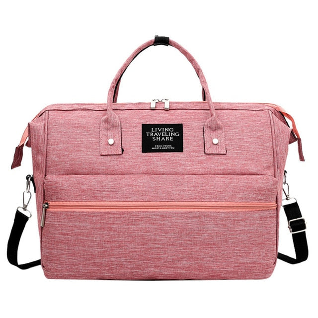 Rosie Posie Messenger Diaper Bag