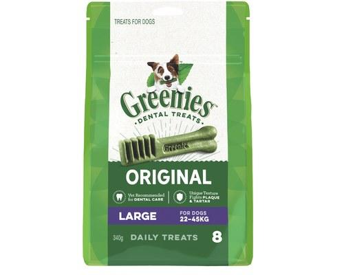 Greenies Dental Chews Original Treat Pack Large 340g (8) | Choice Vet Pharmacy