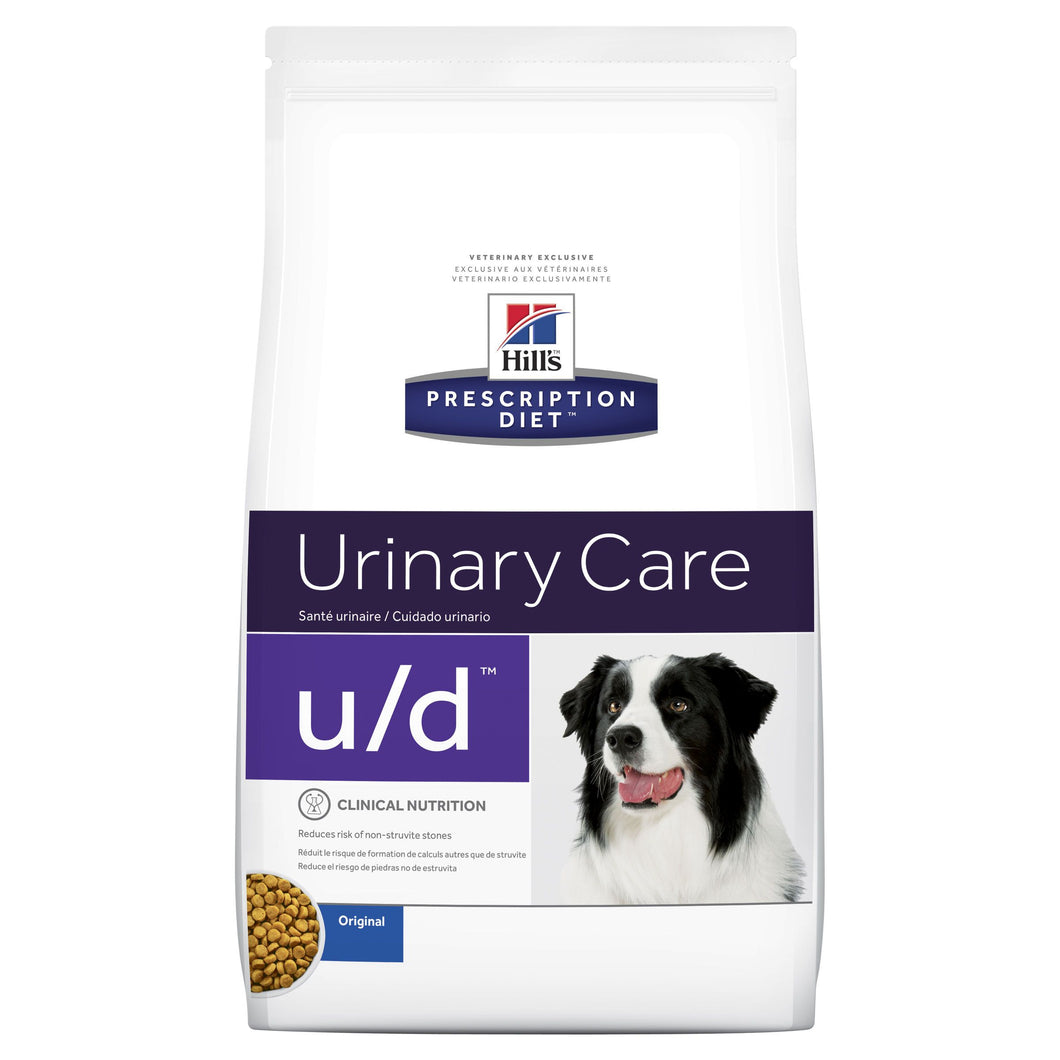 Hill's Prescription Diet u/d Urinary Care Dry Dog Food 3.85kg | Choice Vet Pharmacy