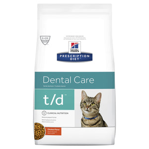 Hill's Prescription Diet t/d Dental Care Dry Cat Food 1.5kg | Choice Vet Pharmacy