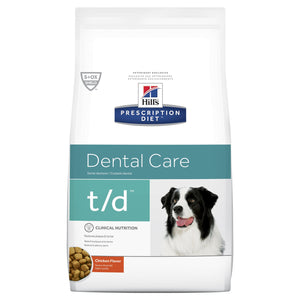 Hill's Prescription Diet t/d Dental Care Dry Dog Food 5.5kg | Choice Vet Pharmacy