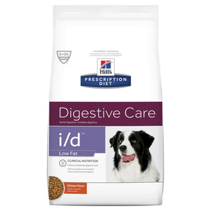 Hill's Prescription Diet i/d Low Fat Digestive Care Dry Dog Food 7.98kg | Choice Vet Pharmacy