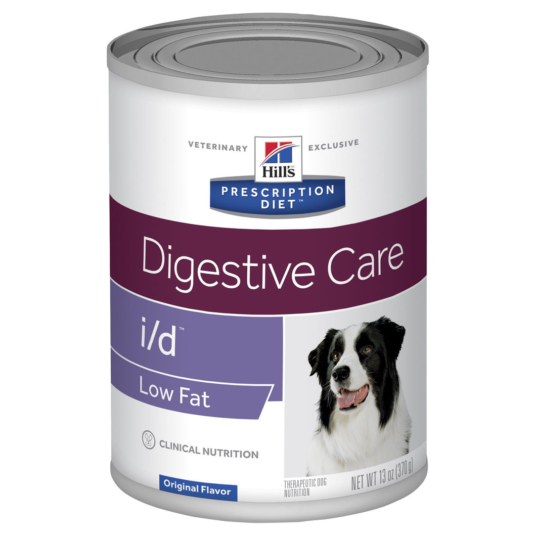 Hill's Prescription Diet i/d Low Fat Digestive Care Canned Dog Food 370g | Choice Vet Pharmacy