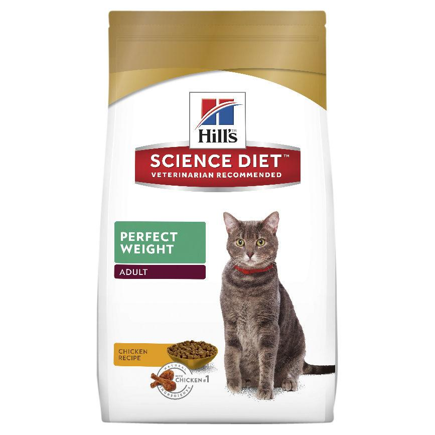 Hill's Science Diet Adult Perfect Weight Dry Cat Food 1.3kg | Choice Vet Pharmacy