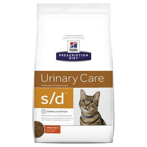 Hill's Prescription Diet s/d Urinary Care Dry Cat Food 1.8kg | Choice Vet Pharmacy