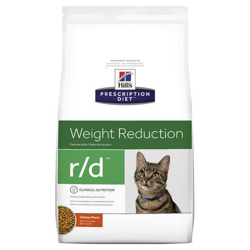 Hill's Prescription Diet r/d Weight Reduction Dry Cat Food 3.9kg | Choice Vet Pharmacy