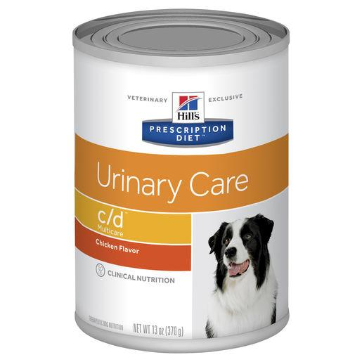 Hill's Prescription Diet c/d Multicare Urinary Care Canned Dog Food 370g | Choice Vet Pharmacy