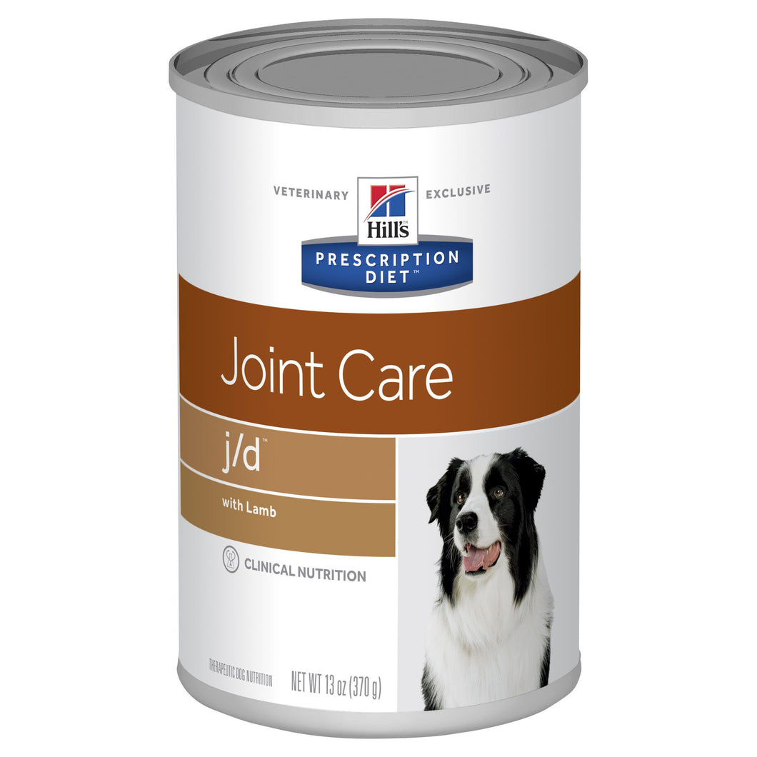 Hill's Prescription Diet j/d Joint Care Canned Dog Food 370g | Choice Vet Pharmacy
