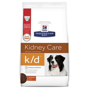 Hill's Prescription Diet k/d Kidney Care Dry Dog Food 3.85kg | Choice Vet Pharmacy
