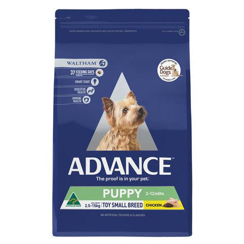 ADVANCE Puppy Growth Toy Small Breed Dry Dog Food Chicken 3kg | Choice Vet Pharmacy