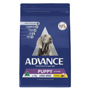 ADVANCE Puppy Growth Large+ Breed Dry Dog Food Chicken 3kg | Choice Vet Pharmacy