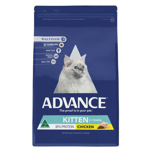 ADVANCE Kitten Growth Dry Cat Food Chicken 3kg | Choice Vet Pharmacy