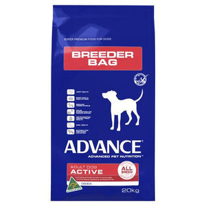 ADVANCE Dog All Breed Active Chicken Breeder Bag  20kg | Choice Vet Pharmacy