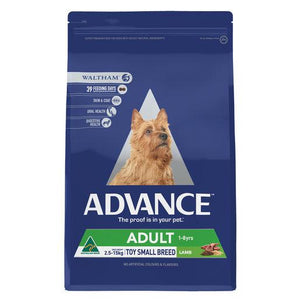 ADVANCE Adult Toy/Small Breed Dry Dog Food Lamb 3kg | Choice Vet Pharmacy