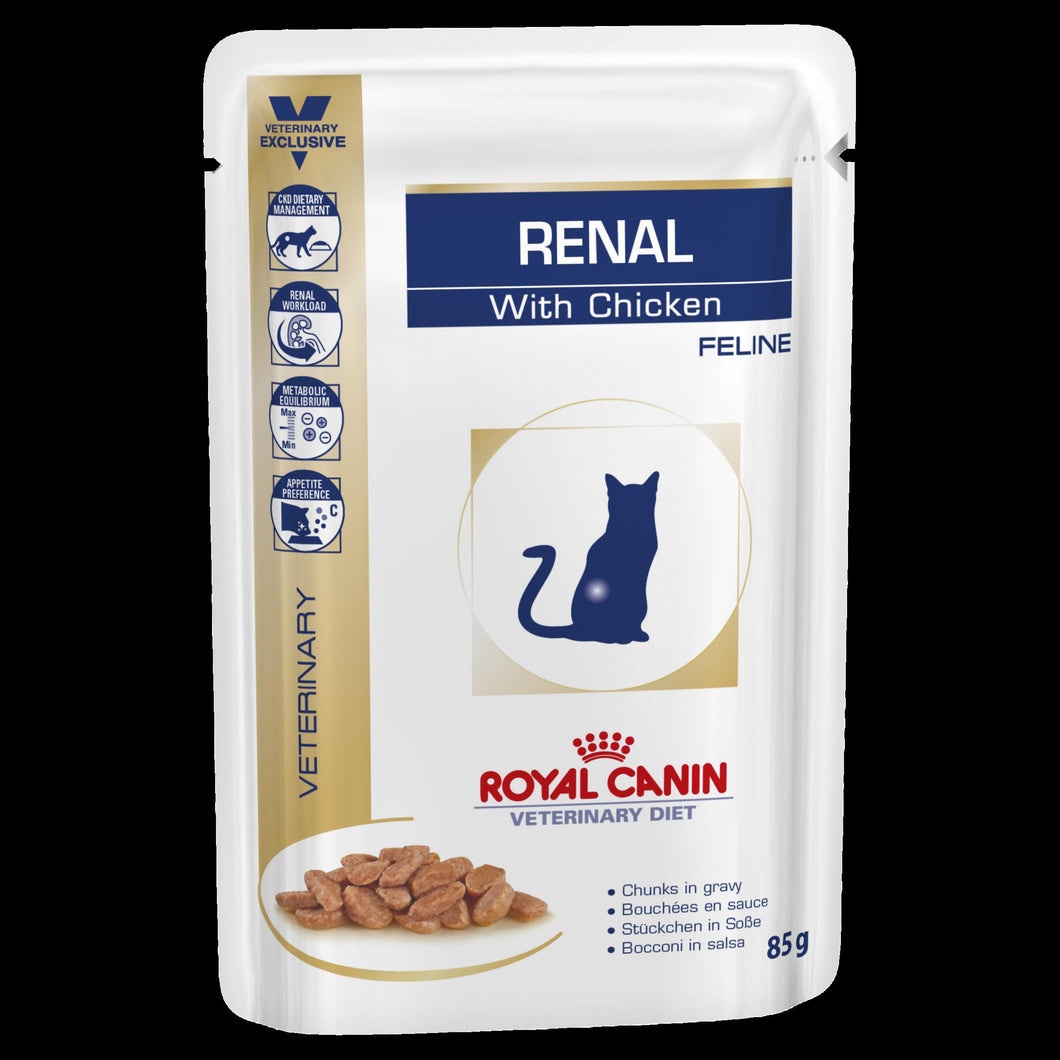 Royal Canin Renal Cat 85g pouch | Choice Vet Pharmacy