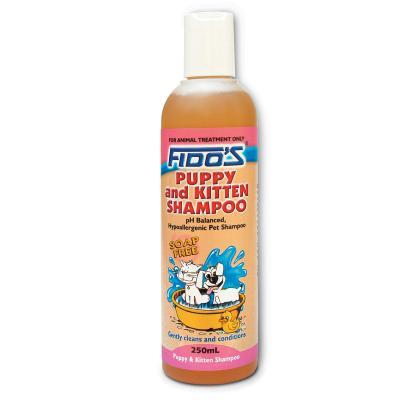 Fidos (Mavlab) FIDO'S PUPPY & KITTEN SHAMPOO 250ML | Choice Vet Pharmacy