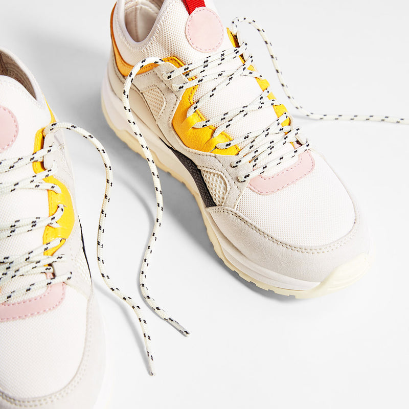 Multicolored Pieces Trainers
