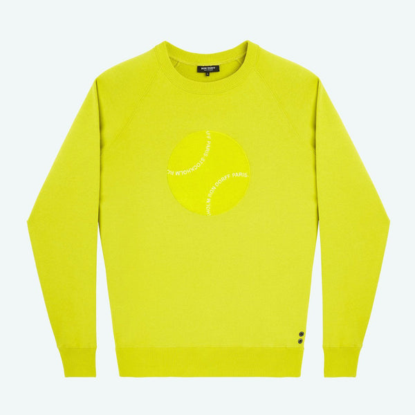 Yellow Ball Sweater