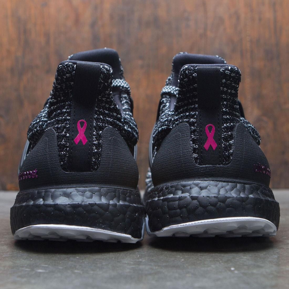 """classic fit f53ac 773ee ULTRABOOST 4.0 CLOUD BLACK WHITE """"breast cancer awareness ..."""