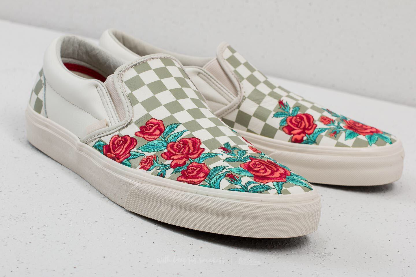 VANS ROSE EMBROIDERY SLIP ON – HYPE SHOP SESSION