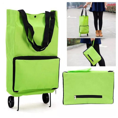 Mvstu™ Portable Foldable Shopping Cart