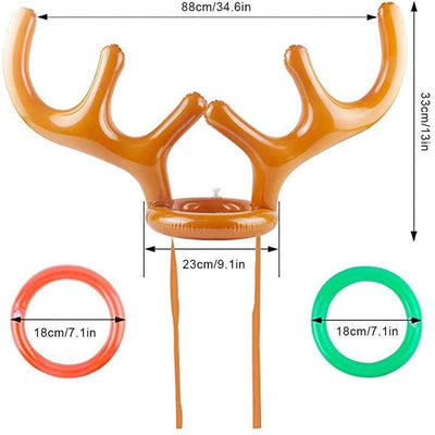 Christmas Inflatable Reindeer Antler / Rabbit ears(2+Free Shipping)