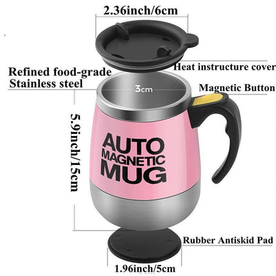 Stainless Steel Magnetized Mixing Cup