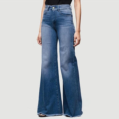 Haloera ™ 70s Plus Size Bell Bottom Jeans